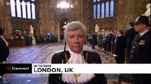 Queen opens new session of UK parliament [Video]