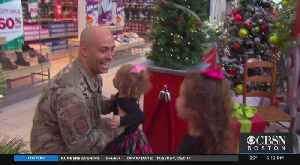 Two Girls Surprised At Northshore Mall As Their Deployed Dad Appears For Christmas [Video]