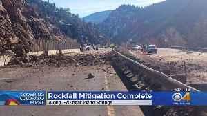 I-70 Reopened After Rockfall Mitigation Near Idaho Springs [Video]