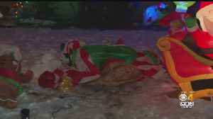 Christmas Decorations Slashed In Haverhill [Video]