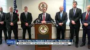 Milwaukee among 7 cities receiving federal agents and funds to combat violent crime [Video]