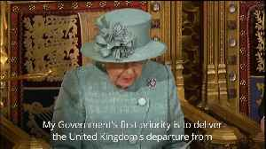 Delivering Brexit the priority in Queen's Speech [Video]