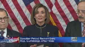 Speaker Nancy Pelosi Remembers Rep. Elijah Cummings After Impeachment Vote [Video]