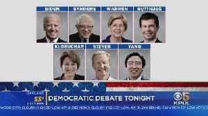 Democratic Presidential Contenders Debate In California After Trump Impeachment Vote [Video]