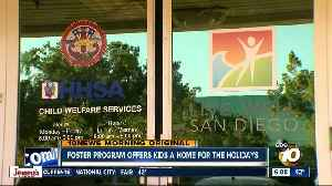 County program helps foster kids find a Home for the Holidays [Video]