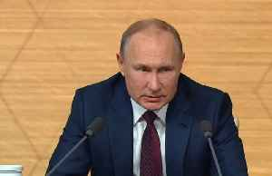 News video: Putin praises Boris Johnson's Brexit crusade