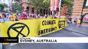 Activists demand Australia declares a climate emergency amid record temperatures [Video]