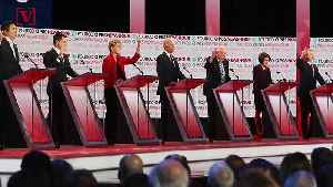 News video: Beijing Cuts Democratic Debate Feed When Topic Turns to Human Rights in China