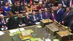 MPs vote to pass Boris' withdrawal agreement bill 358 to 234 [Video]