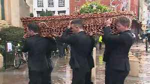 Funeral held for Jack Merritt who died in London Bridge atta [Video]