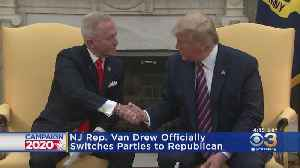 New Jersey Rep. Van Drew Officially Switches To Republican Party [Video]