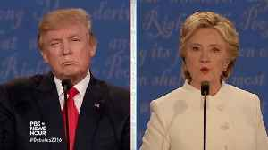 News video: Hillary Clinton Blasts Trump: John Dingell 'Was Everything That Trump Is Not'