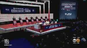 Democratic Candidates Meet In Los Angeles Presidential Debate [Video]