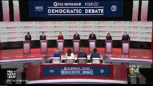 News video: Democratic Presidential Candidates Wrap Up Final Debate Of 2019