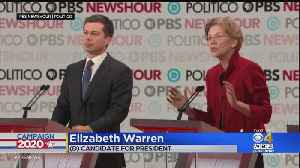Buttigieg, Warren Clash In Debate [Video]