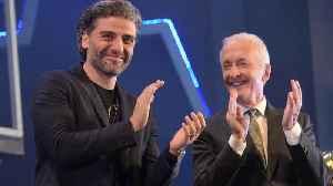 Oscar Isaac emotional witnessing Anthony Daniels' Star Wars farewell speech [Video]