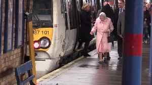Queen arrives in Norfolk by train for Christmas break [Video]