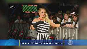 WWE's Lacey Evans Already A Champion In Life, Eyes Gold In The Ring [Video]