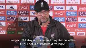 Jurgen Klopp keen to change European perception of Club World Cup [Video]