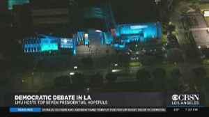 Post-Debate Coverage Of The Democratic Debate At Loyola Marymount In LA [Video]