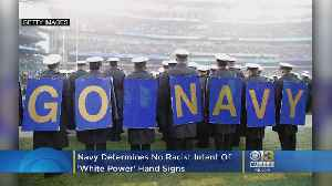 No Racist Intent Found In Probe Of 'White Power' Hand Signs At Army-Navy Game, Navy Concludes [Video]