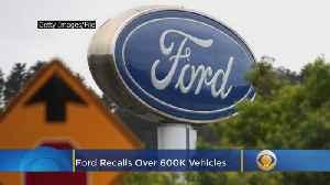 Ford Recalling 600K Vehicles Over Brake Problem [Video]