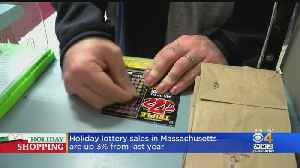 Scratch Ticket Sales Are Up This Holiday Season [Video]