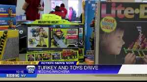 Turkeys and Toys drive helps hundreds of famlies [Video]