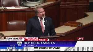 Congressman LaMalfa speaks before impeachment vote [Video]