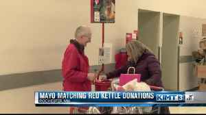 Mayo Clinic matching Red Kettle donations [Video]