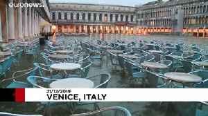 Venice expects 130cm 'acqua alta' peak [Video]