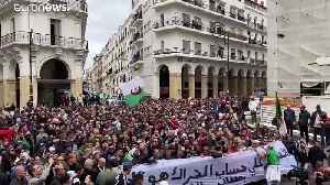 Algerians protest as new president Tebboune is sworn in [Video]