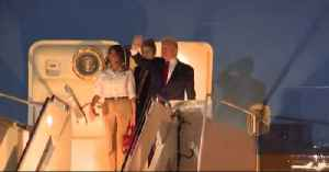 President Trump arrives in Palm  Beach County [Video]