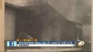 Remembering 50 year old NAS Miramar crash [Video]