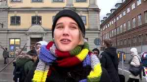 Greta Thunberg back to protesting outside Swedish parliament [Video]