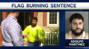 News video: Iowa man sentenced to 16 years in jail for burning LGBT flag