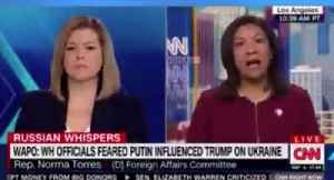 Dem Rep Pushes Wild Conspiracy Theory On CNN About Putin and Trump [Video]