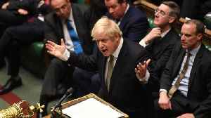 UK: MPs approve first stage of PM Johnson's Brexit legislation [Video]
