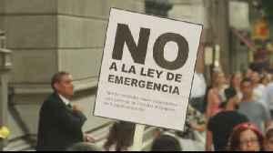 News video: Argentina declares economic emergency