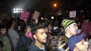 Delhi students brave cold in latest protest against Citizenship Amendment Bill [Video]