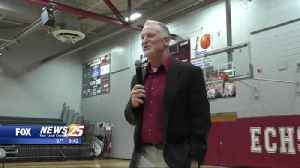 Last stop, East Central: Eric Collins introduced as head coach [Video]
