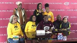 Culver's Deontae Craig Cements Commitment to Iowa [Video]
