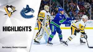 NHL Highlights   Penugins @ Canucks 12/21/19 [Video]