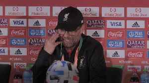 Klopp lost for words after Club World Cup triumph [Video]