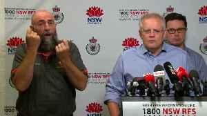 Australia fires: Scott Morrison apologises for family holiday [Video]