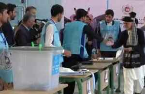 Afghan poll results suggest slim win for Ghani [Video]