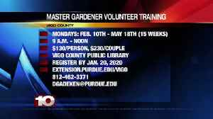 Master Gardener Volunteer Training Extension Purdue [Video]