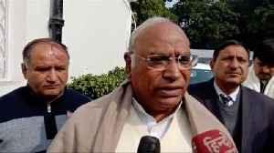 News video: Congress leader Mallikarjun Kharge speaks on Jharkhand assembly election result