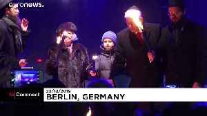 Hannukah: Germany's Jews celebrate the start of Festival of Lights [Video]