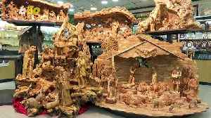 WOW! These Intricate Nativity Scenes Are Carved from Wood Older Than the Nativity Story Itself [Video]
